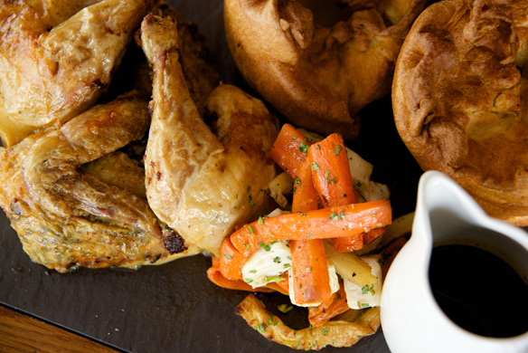 Roast Dinner Reform Social & Grill British Restaurant Dubai